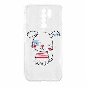 Etui na Xiaomi Redmi 9 Ilustracja pieska