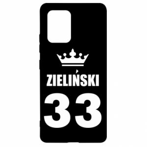 Samsung S10 Lite Case name, figure and crown