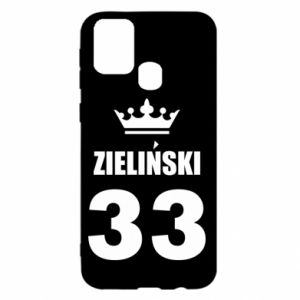 Samsung M31 Case name, figure and crown