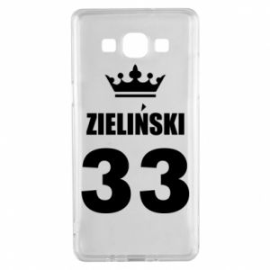 Samsung A5 2015 Case name, figure and crown