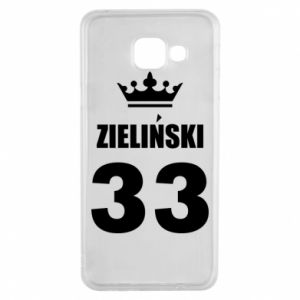 Samsung A3 2016 Case name, figure and crown