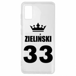 Samsung A41 Case name, figure and crown