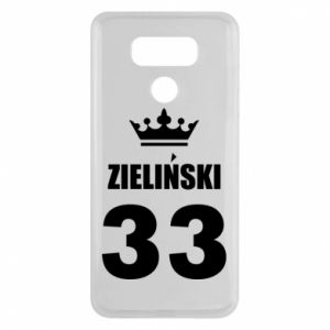 LG G6 Case name, figure and crown