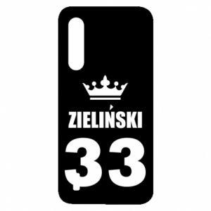 Etui na Xiaomi Mi9 Lite Imię, cyfra i korona