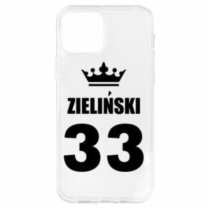 Etui na iPhone 12/12 Pro Imię, cyfra i korona
