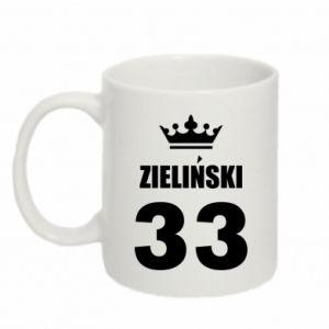 Mug 330ml name, figure and crown - PrintSalon