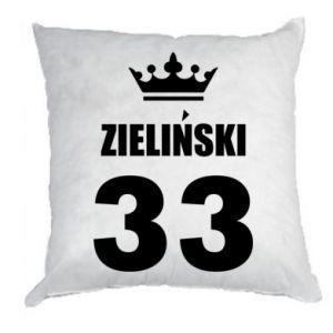 Pillow name, figure and crown - PrintSalon