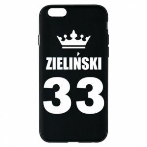 Etui na iPhone 6/6S Imię, cyfra i korona