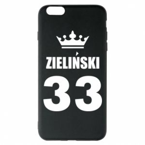 Phone case for iPhone 6 Plus/6S Plus name, figure and crown - PrintSalon