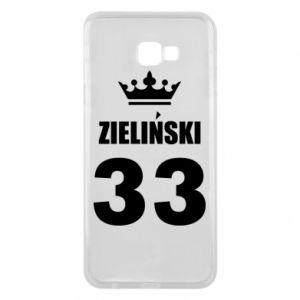 Phone case for Samsung J4 Plus 2018 name, figure and crown - PrintSalon