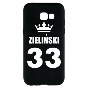 Phone case for Samsung A5 2017 name, figure and crown - PrintSalon