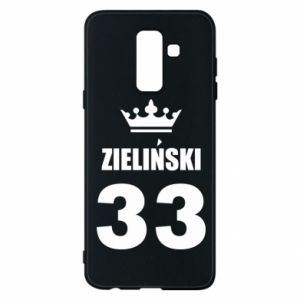 Phone case for Samsung A6+ 2018 name, figure and crown - PrintSalon