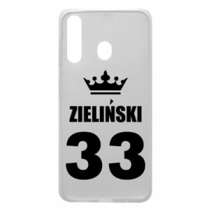 Phone case for Samsung A60 name, figure and crown - PrintSalon