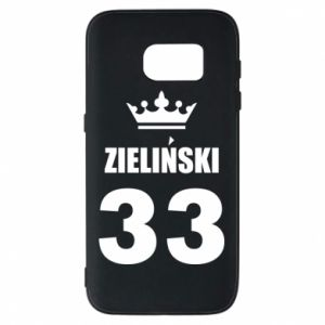 Phone case for Samsung S7 name, figure and crown - PrintSalon