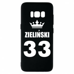 Phone case for Samsung S8 name, figure and crown - PrintSalon