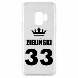 Phone case for Samsung S9 name, figure and crown - PrintSalon