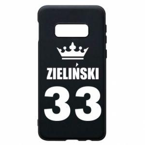 Phone case for Samsung S10e name, figure and crown - PrintSalon