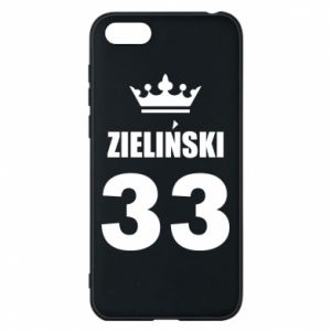 Phone case for Huawei Y5 2018 name, figure and crown - PrintSalon