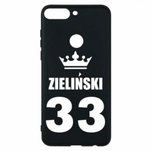 Phone case for Huawei Y7 Prime 2018 name, figure and crown - PrintSalon