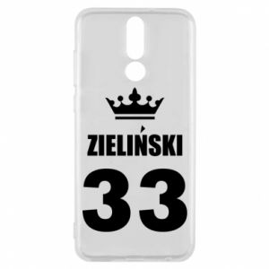 Phone case for Huawei Mate 10 Lite name, figure and crown - PrintSalon