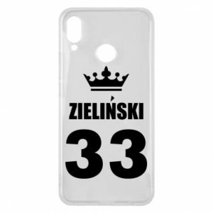 Phone case for Huawei P Smart Plus name, figure and crown - PrintSalon
