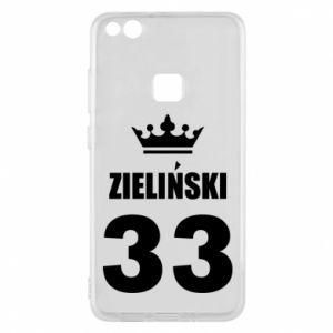 Phone case for Huawei P10 Lite name, figure and crown - PrintSalon