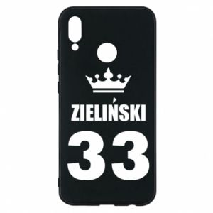 Phone case for Huawei P20 Lite name, figure and crown - PrintSalon