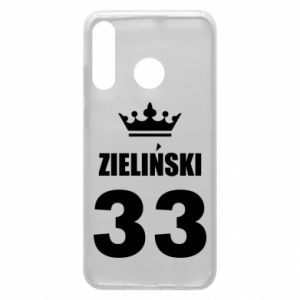 Phone case for Huawei P30 Lite name, figure and crown