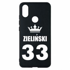 Phone case for Xiaomi Mi A2 name, figure and crown - PrintSalon