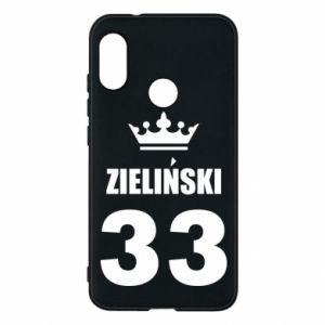 Phone case for Mi A2 Lite name, figure and crown - PrintSalon
