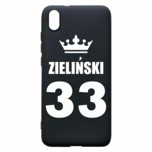 Phone case for Xiaomi Redmi 7A name, figure and crown - PrintSalon