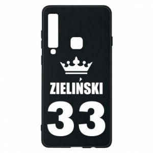 Phone case for Samsung A9 2018 name, figure and crown - PrintSalon