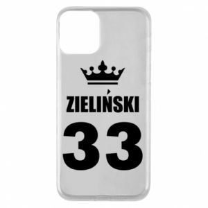 Phone case for iPhone 11 name, figure and crown