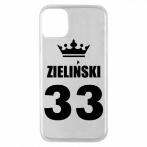 Etui na iPhone 11 Pro Imię, cyfra i korona