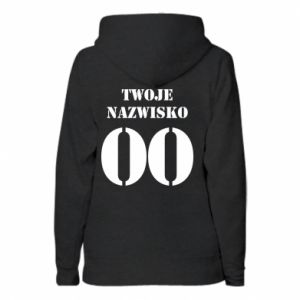 Women's hoodies Name and number