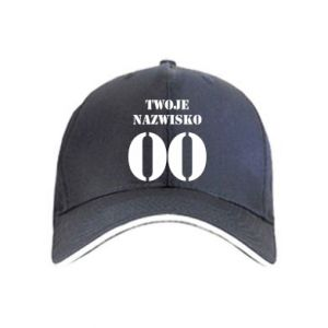 Cap Name and number