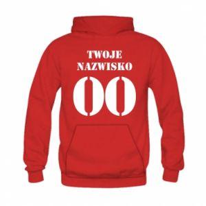 Kid's hoodie Name and number