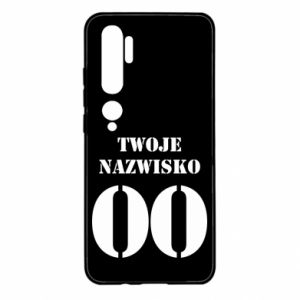 Xiaomi Mi Note 10 Case Name and number