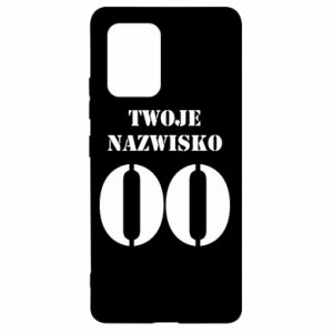 Samsung S10 Lite Case Name and number