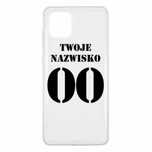 Samsung Note 10 Lite Case Name and number