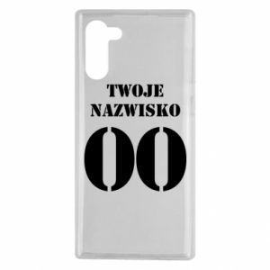 Samsung Note 10 Case Name and number