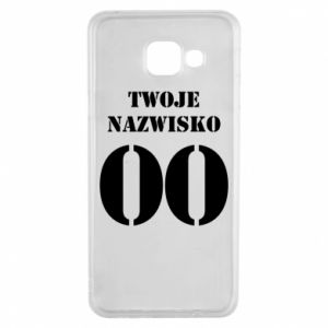 Samsung A3 2016 Case Name and number
