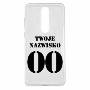 Nokia 5.1 Plus Case Name and number