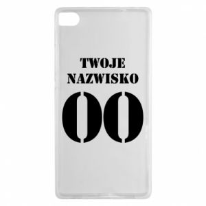Huawei P8 Case Name and number