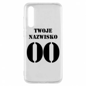 Huawei P20 Pro Case Name and number