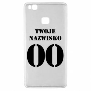 Huawei P9 Lite Case Name and number