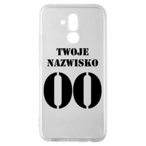 Huawei Mate 20Lite Case Name and number