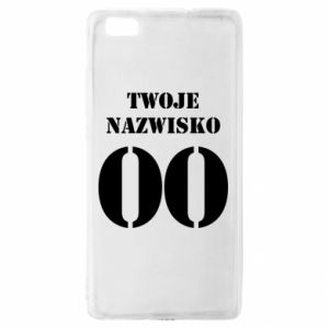 Huawei P8 Lite Case Name and number