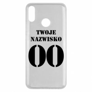 Huawei Y9 2019 Case Name and number