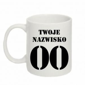 Mug 330ml Name and number - PrintSalon